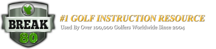 http://www.howtobreak80.com   Recently PGA Instructor Jason Blonder has teamed up with How to Break 80.com to put together swing advice through video drills designed to help you improve your game. Please click the image above to view How to Break 80.com's web site.  Click the image below if you would like to view the golf tip put together with HowToBreak80.com.