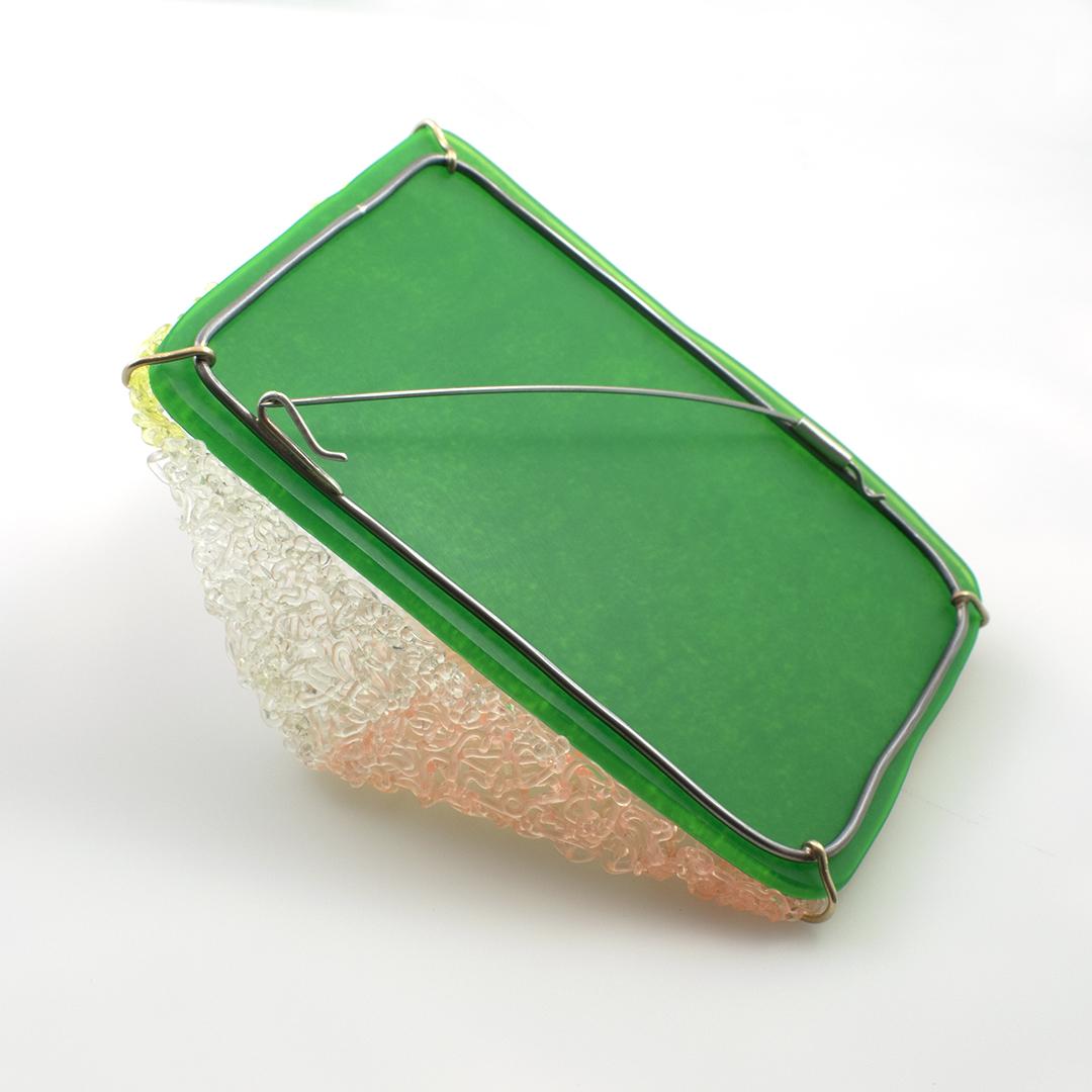 Ratio Reflection Brooch (back)
