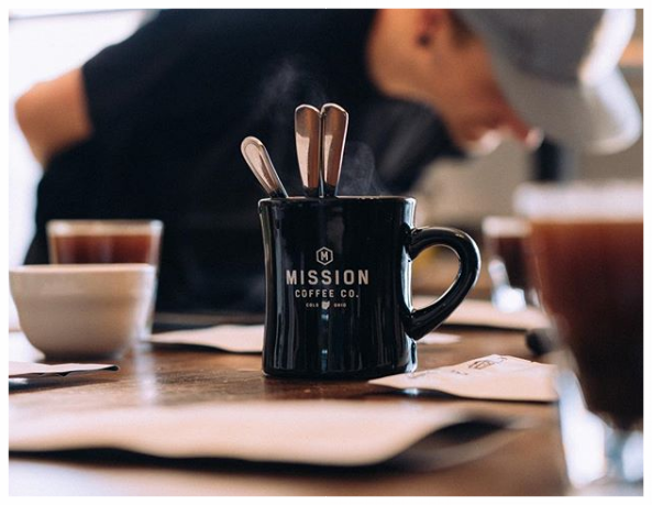 - Photo by Mission Coffee
