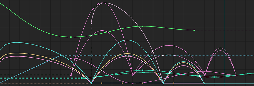 Animation curves! This is what I look at while I work.