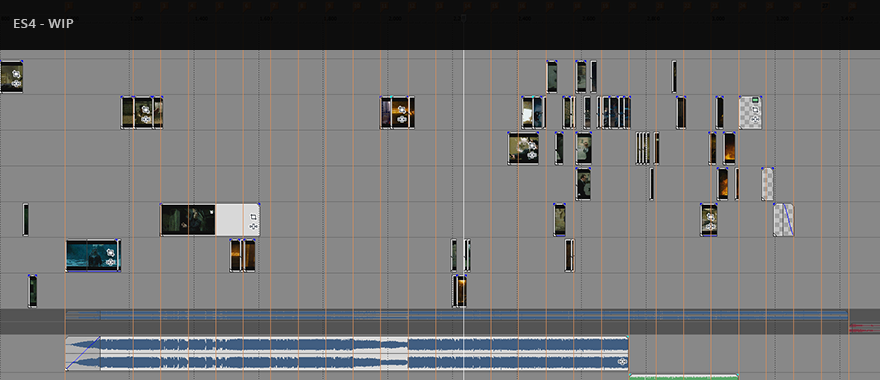 Around 33% there. This is extremely time consuming. If I don't  love  a sequence, I scrap it.