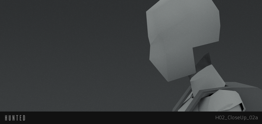 Gray block out mesh of Chloe. Very simple stuff, but hopefully it delivers in the end.