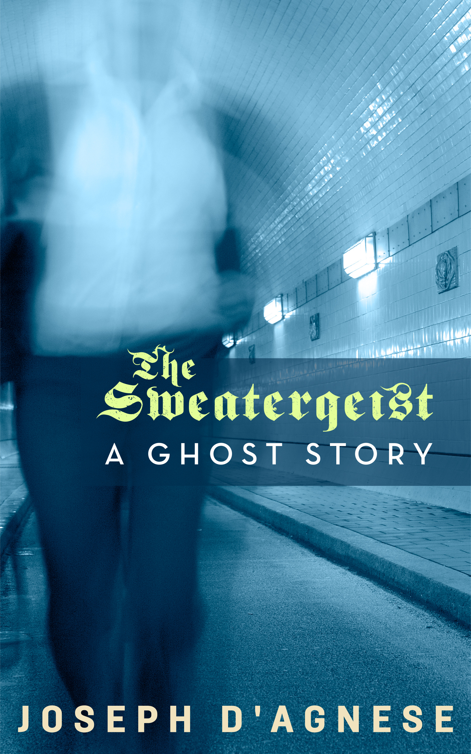 The Sweatergeist, a twisted private eye ghost story, by Joseph D'Agnese