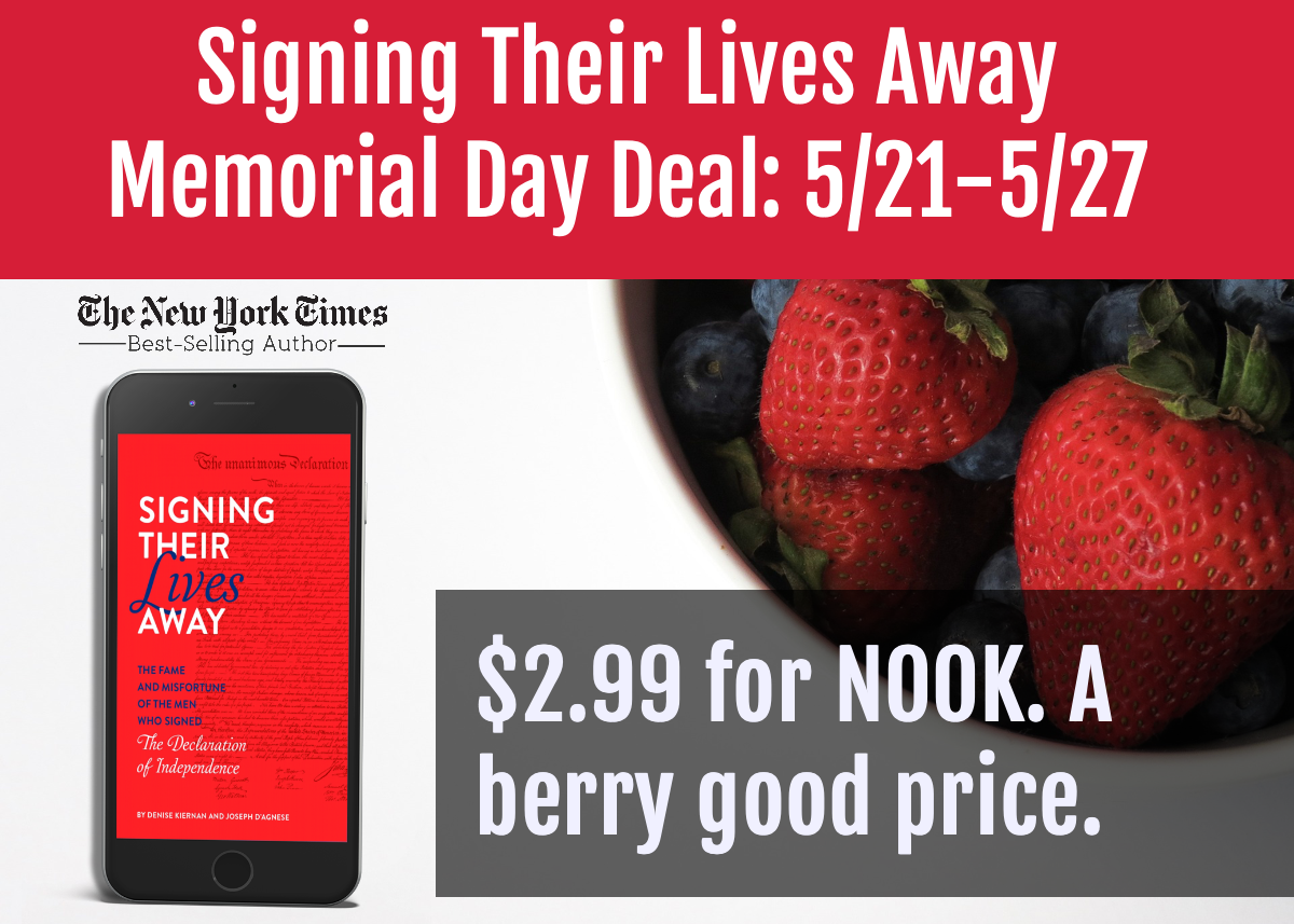 Signing Their Lives Away - Memorial Day Sale 2019