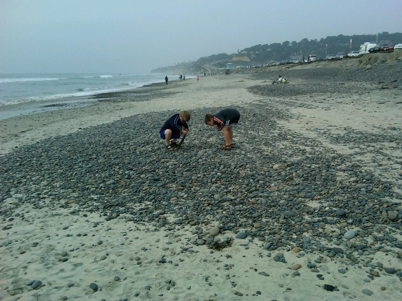 Boys on a Beach in California | All rights Reserved
