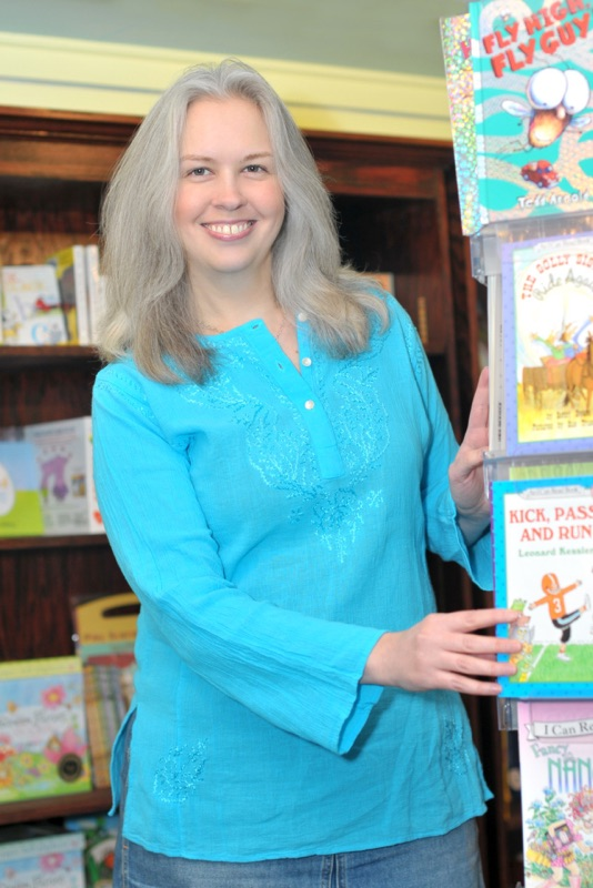Leslie Hawkins, Spellbound Books, Asheville, 2010
