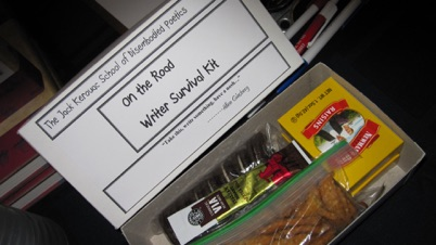 On the Road Writer Survival Kit