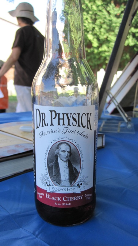 Dr. Physick Soda photo by Joseph D'Agnese