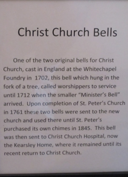 Christ Church Bells history