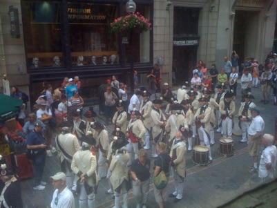 Fife and drums, Boston, July 2011. Photo by Joseph D'Agnese