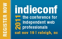 Indieconf 2011