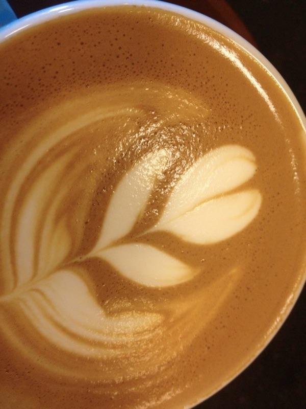 cappuccino photo by author Denise Kiernan