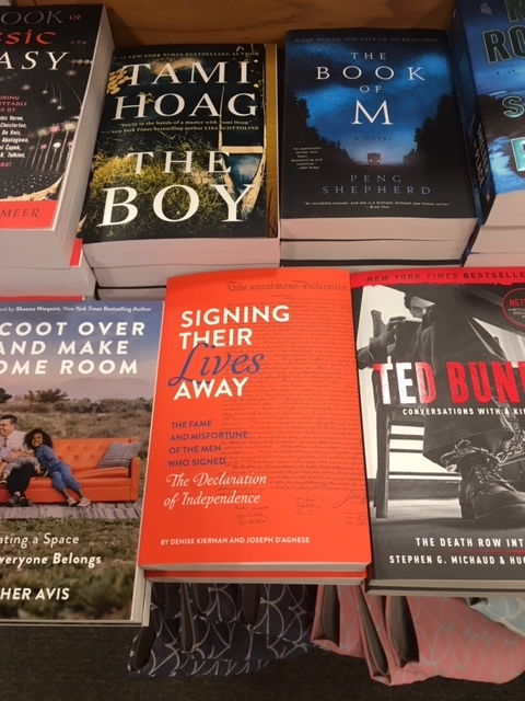 Photo sent in by an alert fan browsing at a B&N in Charlotte, NC.