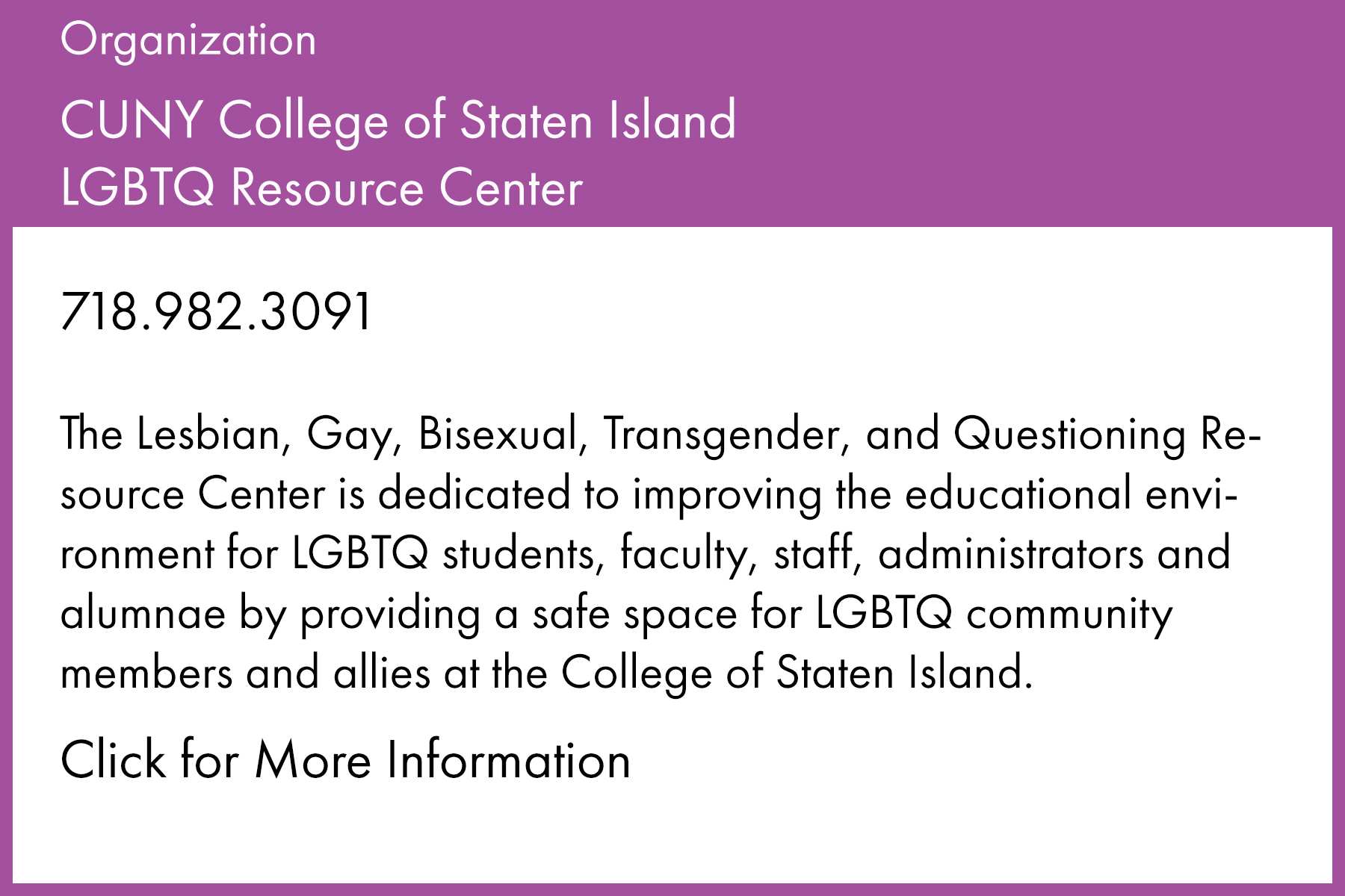 Resource Directory - CUNY Staten Island  LGBTQ Resource Center.jpg