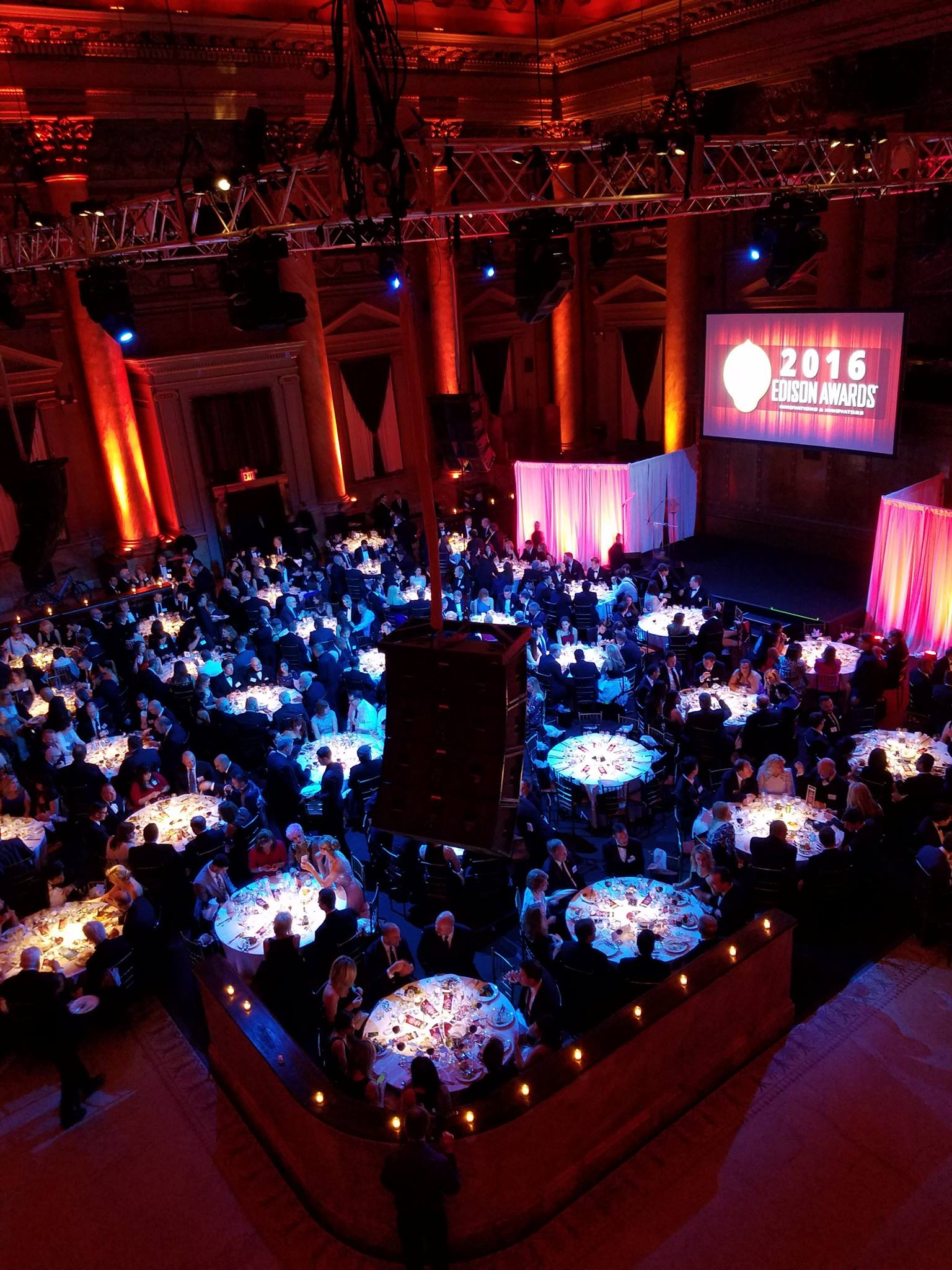 2016 Edison Awards Gala Arial View