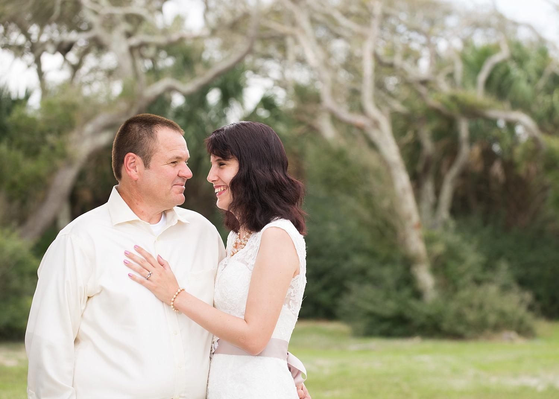 St Augustine bride and groom