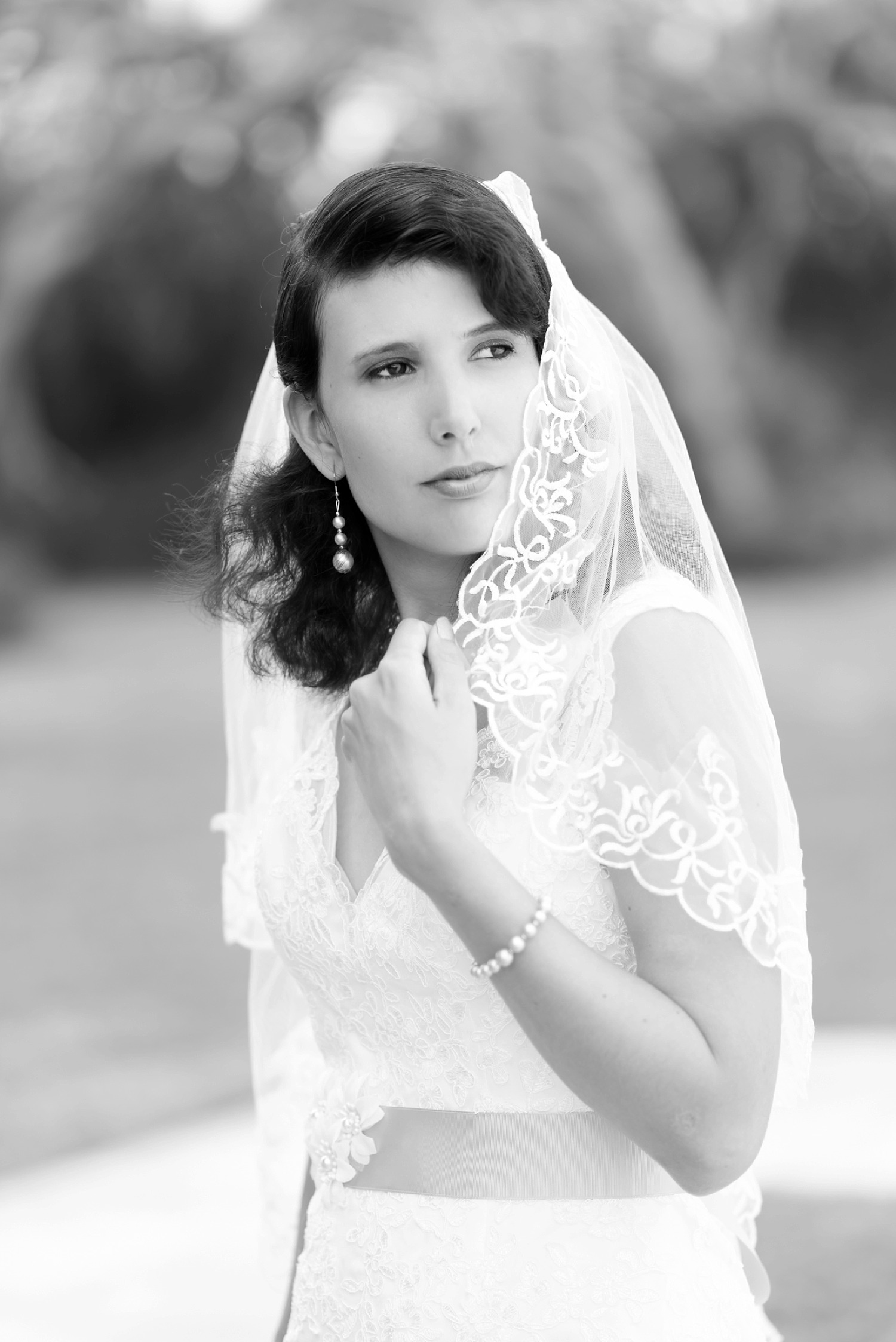 st augustine bridal portrait