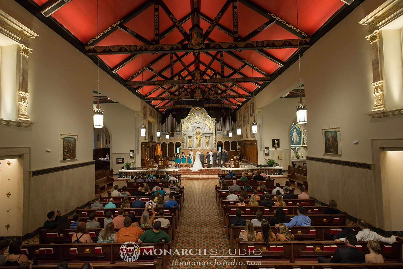 Cathedral Basilica St. Augustine FL Wedding Ceremony