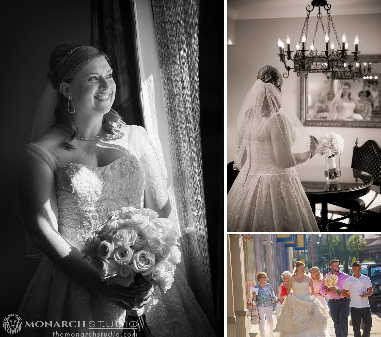 Saint Augustine Photographer White Room Wedding