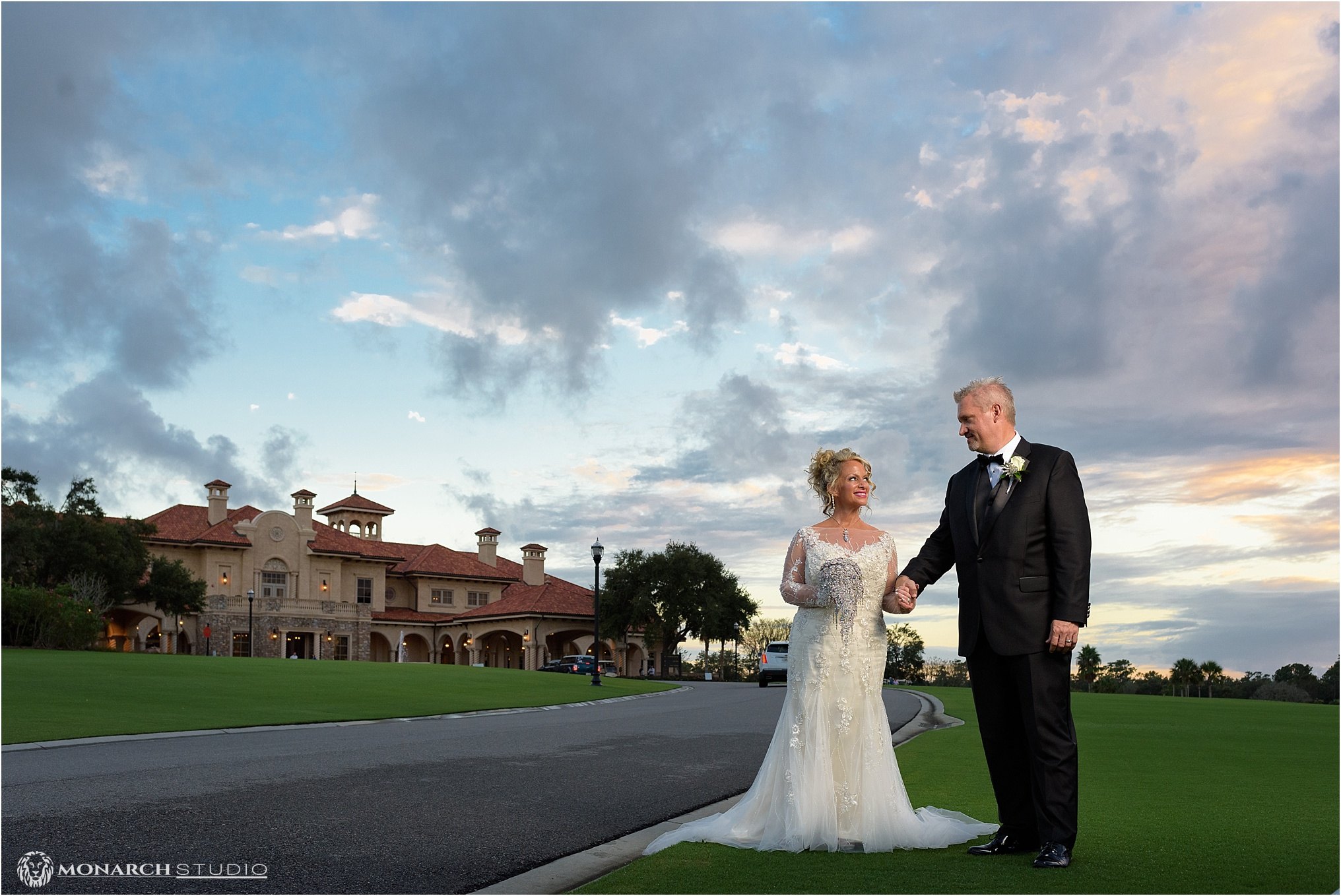 Ken and Danielle's TPC clubhouse wedding