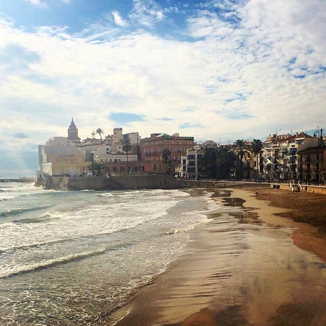 It is a BEAUTIFUL day in Sitges, and we're all set to take 300 of you lovely people to Carnaval tonight. Meet at @d9_al_poblenou at 6PM and let's get WEIRD. 🍾🍾🍾