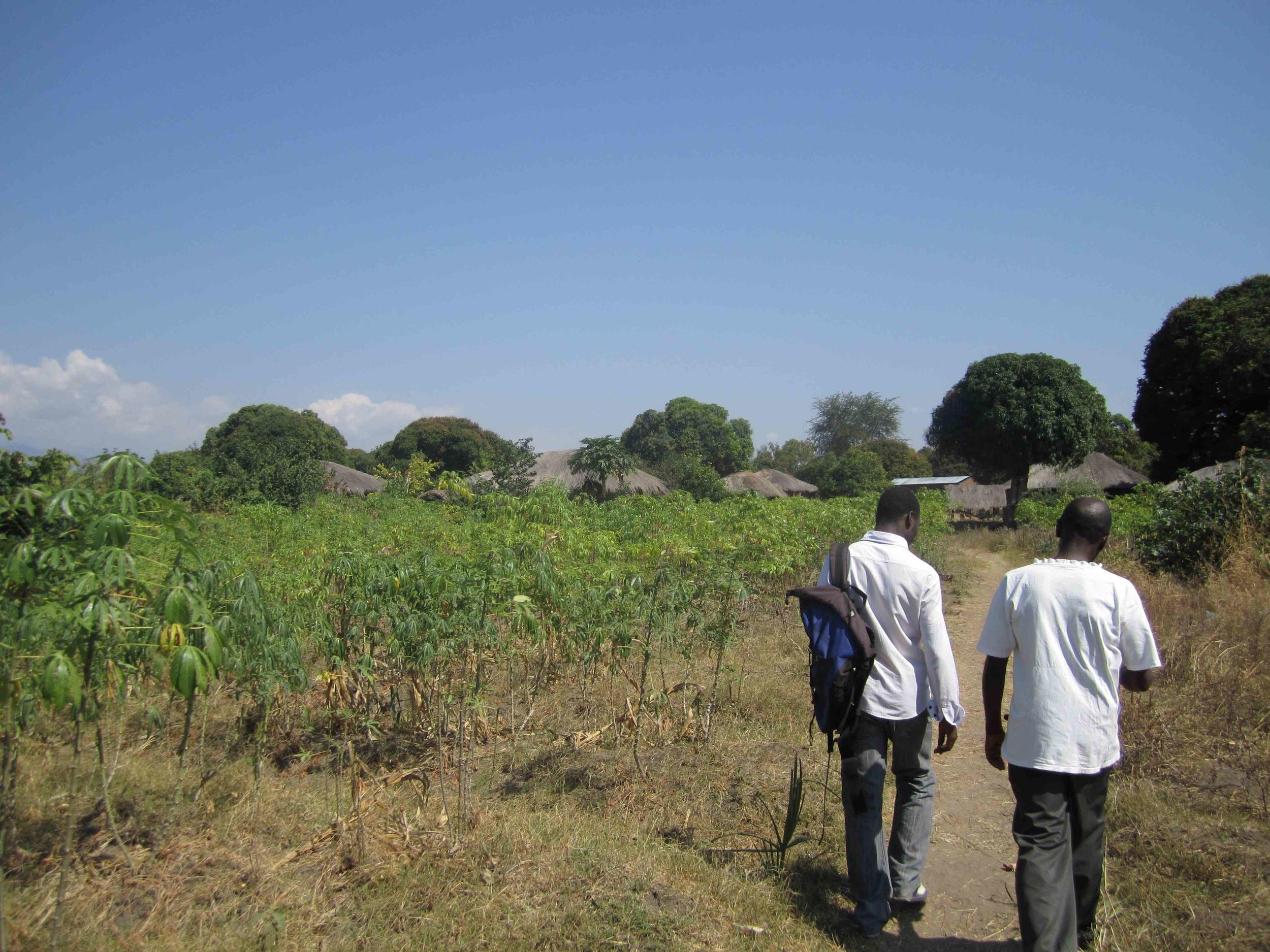 fieldwork in Karonga district rural malawi