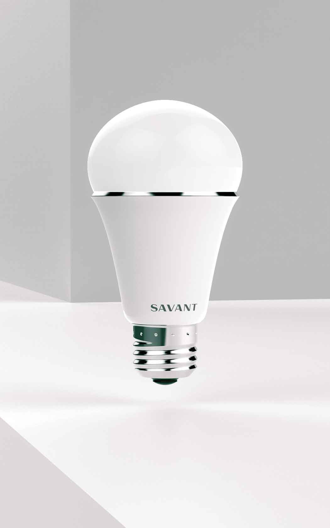 3. Savant Smart Light LED Lighting Bulb -