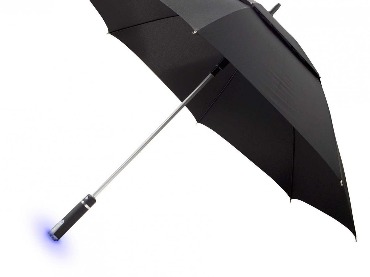 """MIT's """"Enchanted umbrella"""" shows how information can be delivered in simple, new and interesting ways - no more weather app needed."""