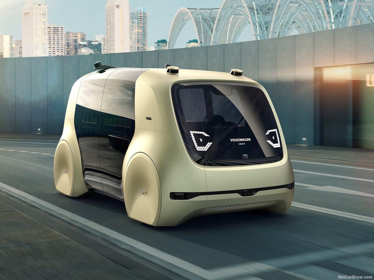 Volkswagen Sedric fully autonomous concept