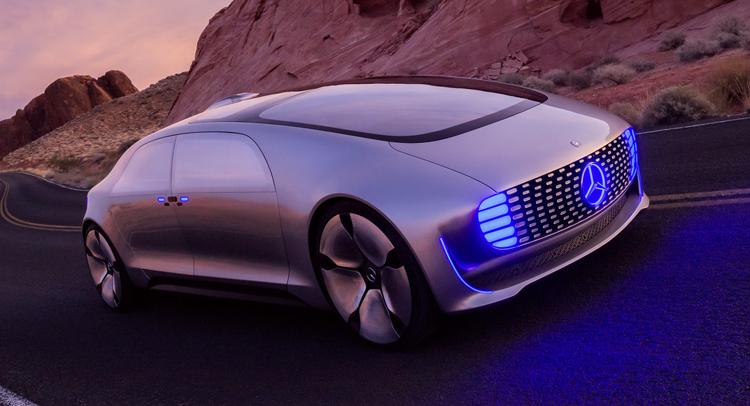 Mercedes F 015 autonomous concept vehicle