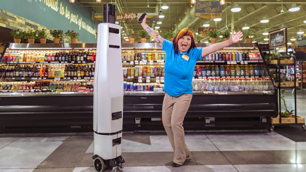 Bossa Nova robotics is making robots to roam the aisles of stores and take inventory using a range of 2D and 3D cameras.