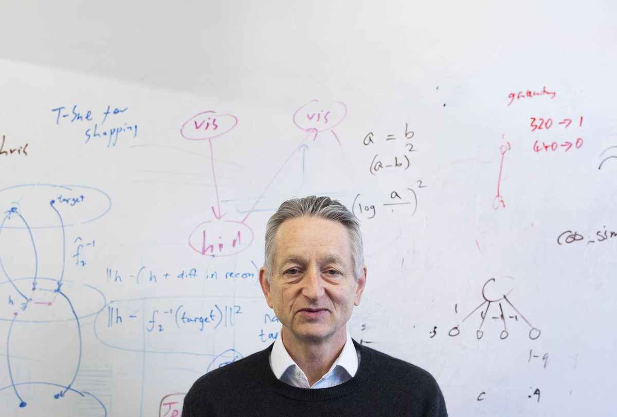 Geoff Hinton, the father of modern AI