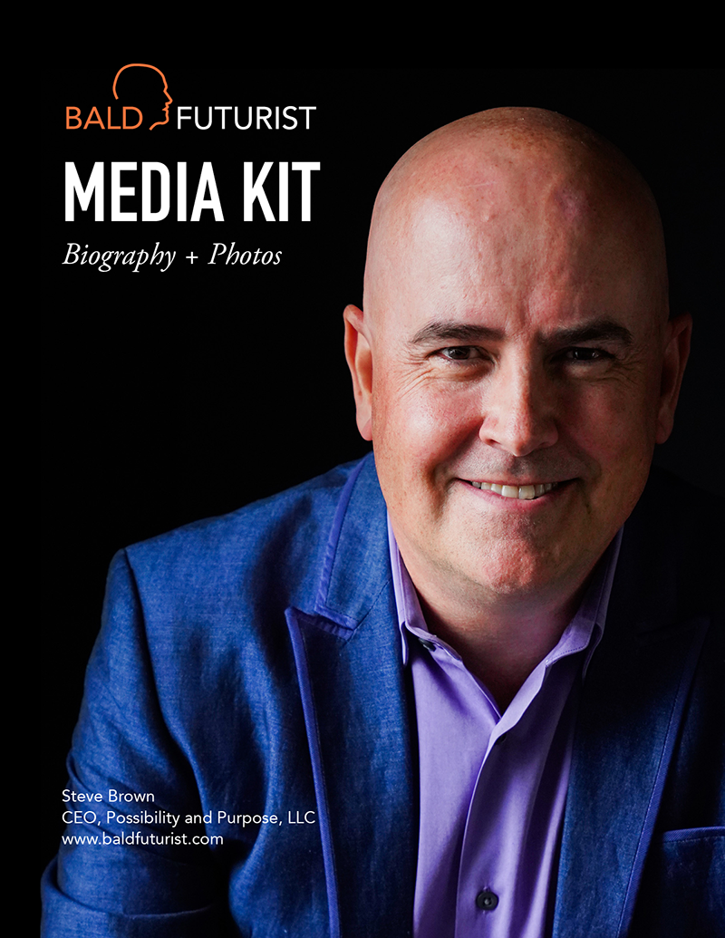 Bald Futurist Media Kit | Biography & Photos