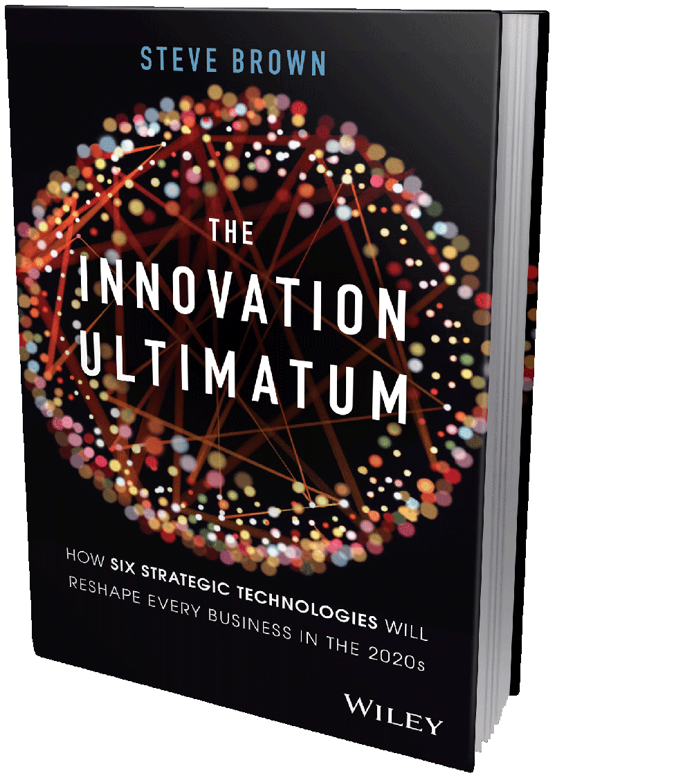 Innovation Ultimatum: New Book by Steve Brown