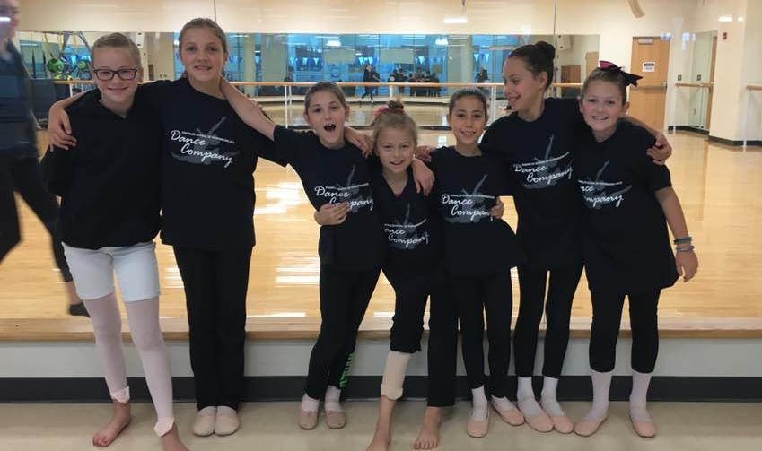 Mini Dance Company spent Saturday afternoon taking ballet, modern, and jazz at the TAD Junior dance festival. (not pictured: Gipsy).