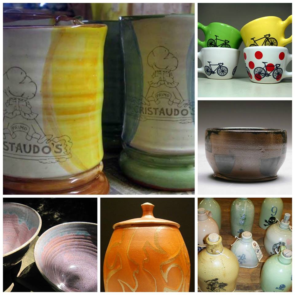 Ceramics   made by Illinois Artisans (and one who now lives in Austin)