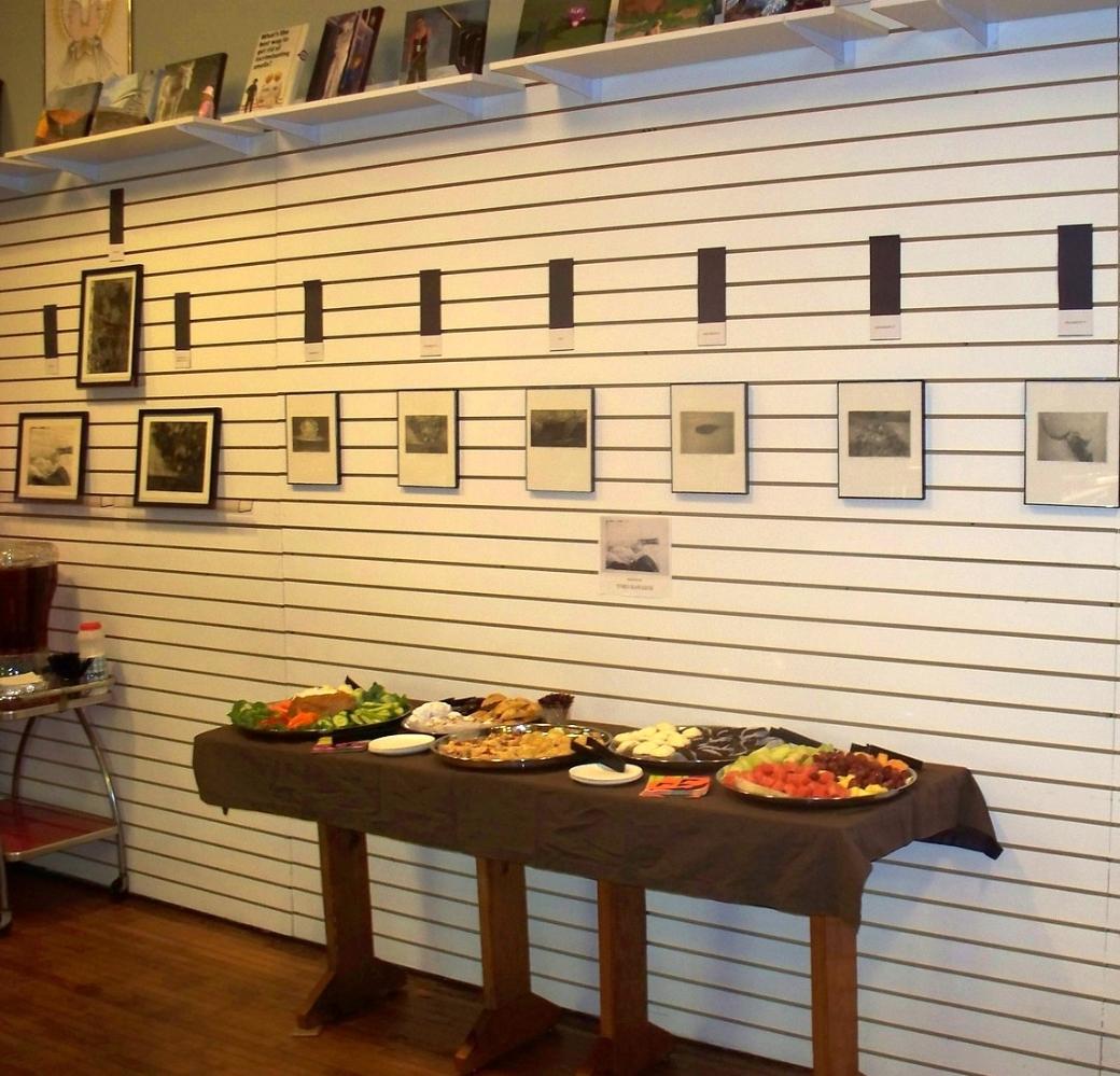 Reception for Yoko Kawazoe in the Gift Shop