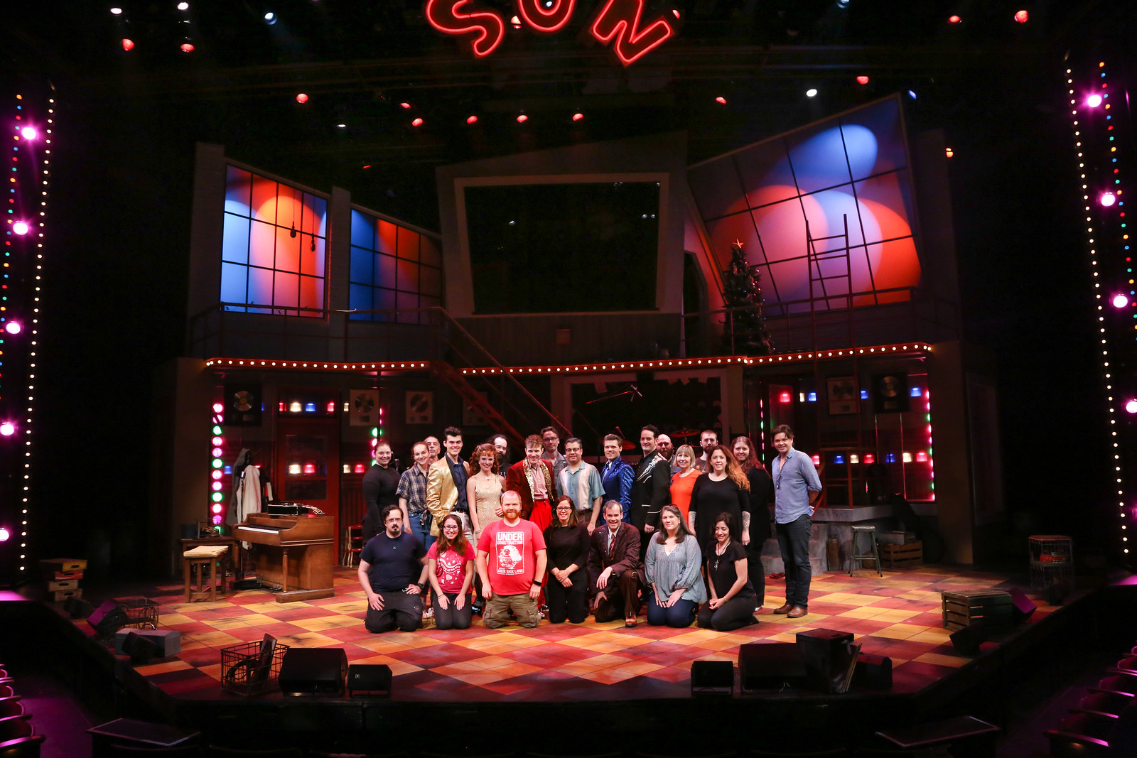 The Entire Geva Theatre Center Cast and Crew
