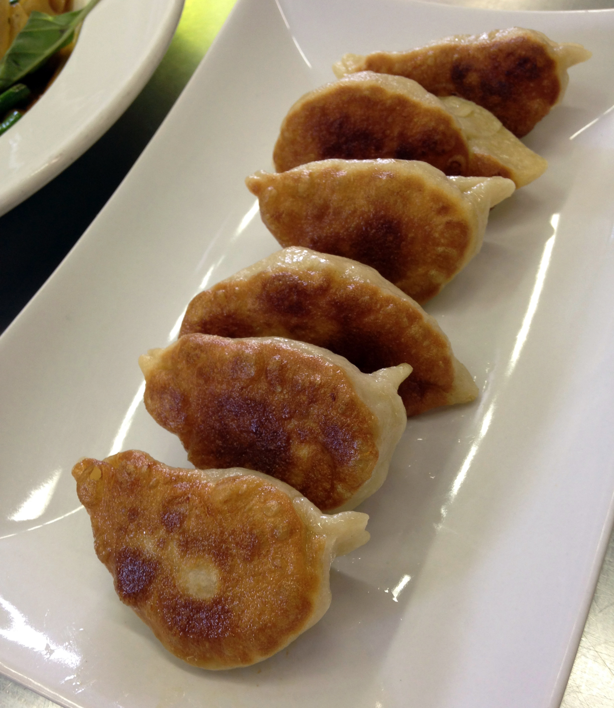 Chinese pork potstickers