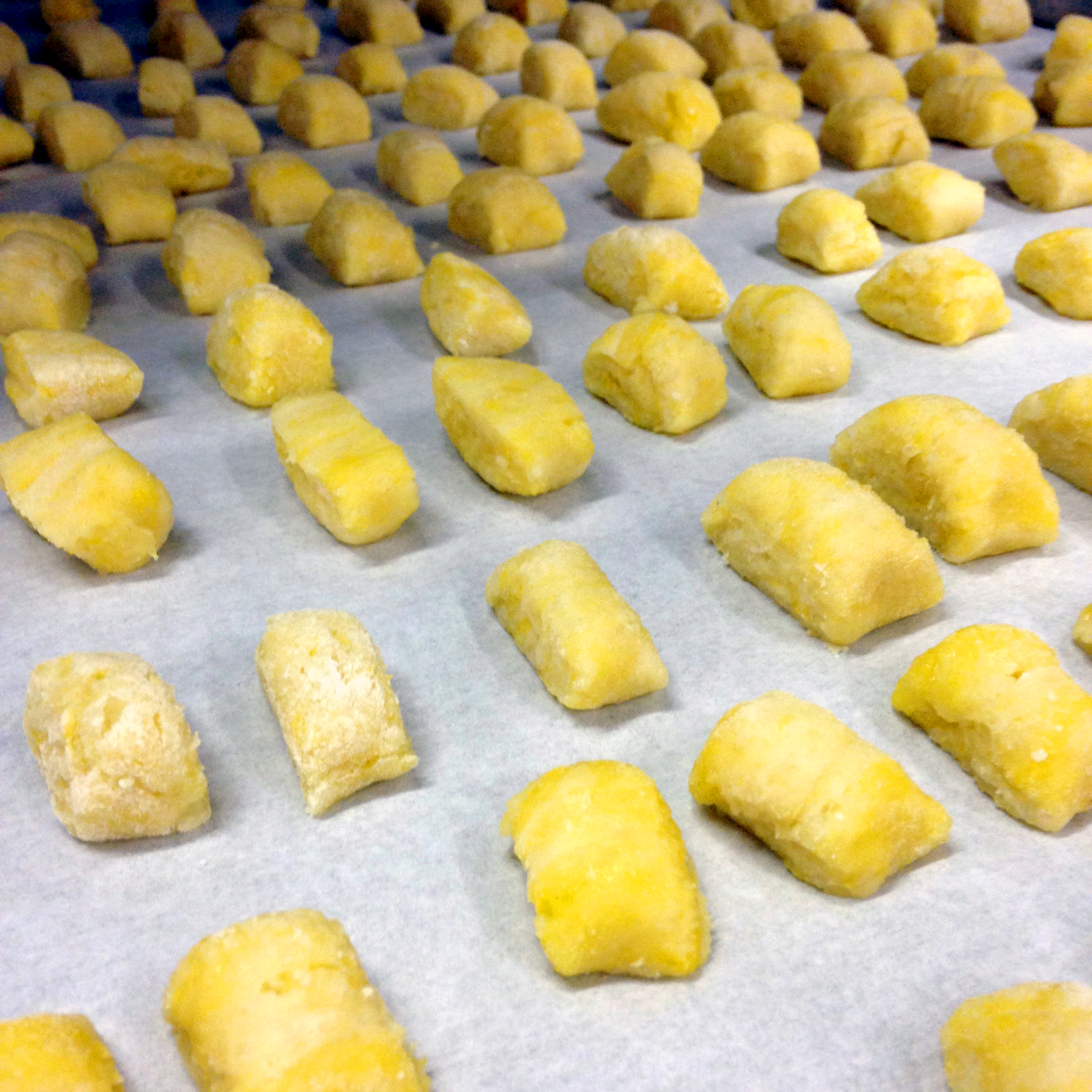 Gnocchi, take 2. This time I ensured there would be no sticking together!
