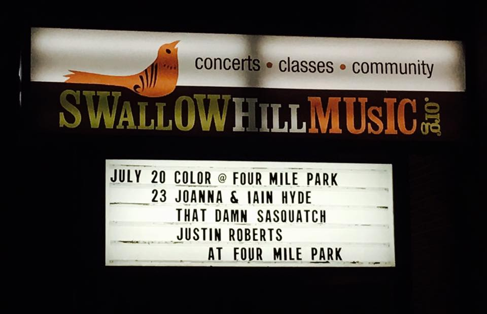 Swallow Hill Music CD Release Show 7/23/16