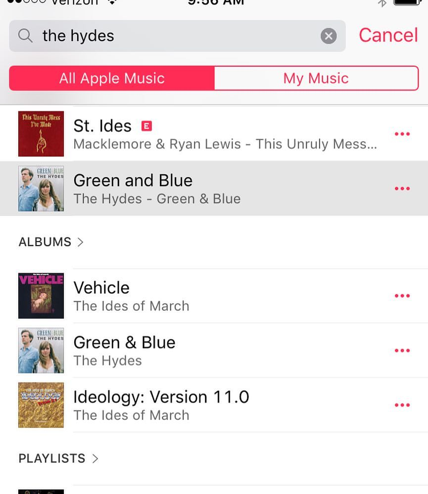 ...and Apple Music!