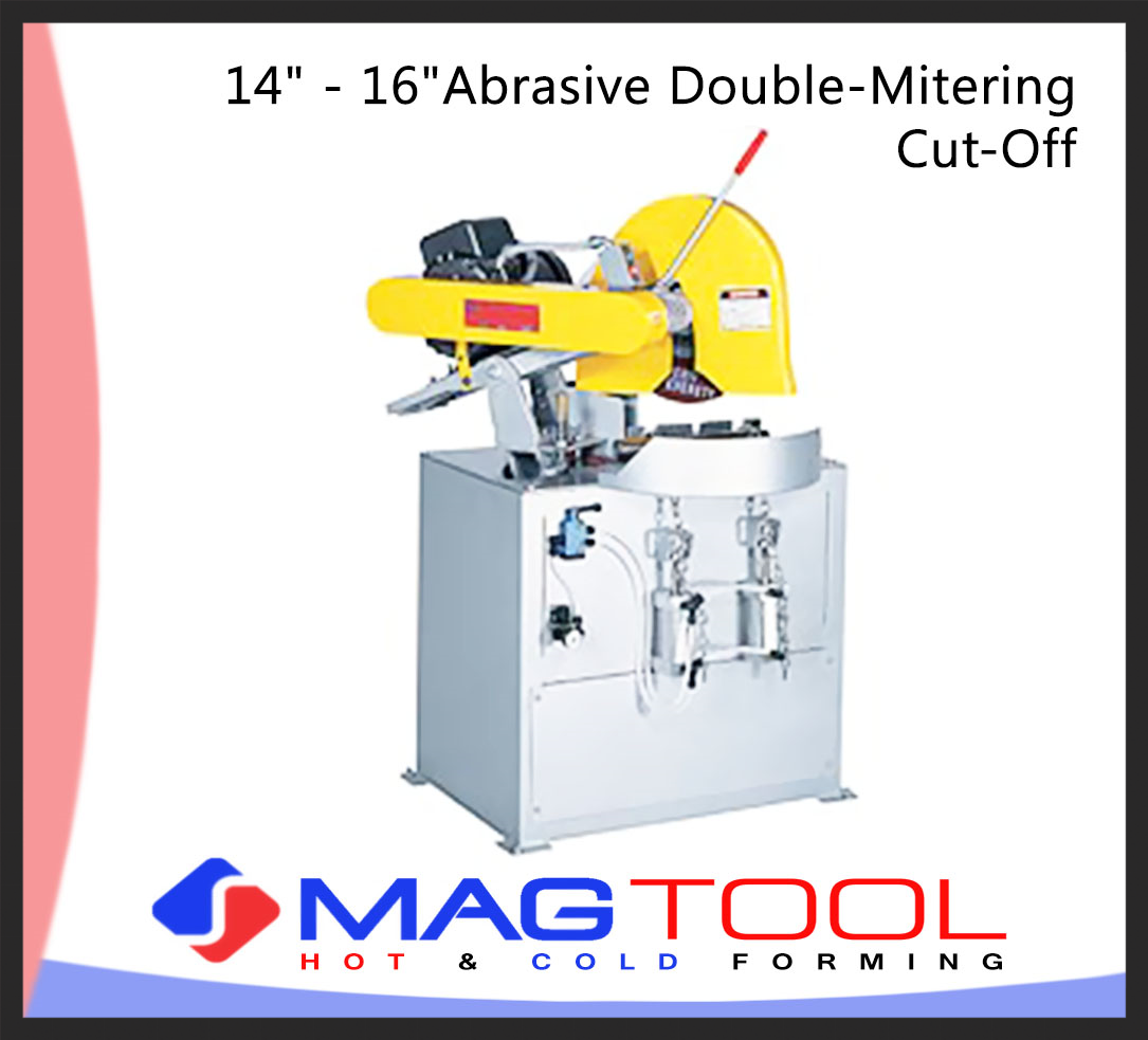 """14"""" - 16""""Abrasive Double-Mitering Cut-Off"""