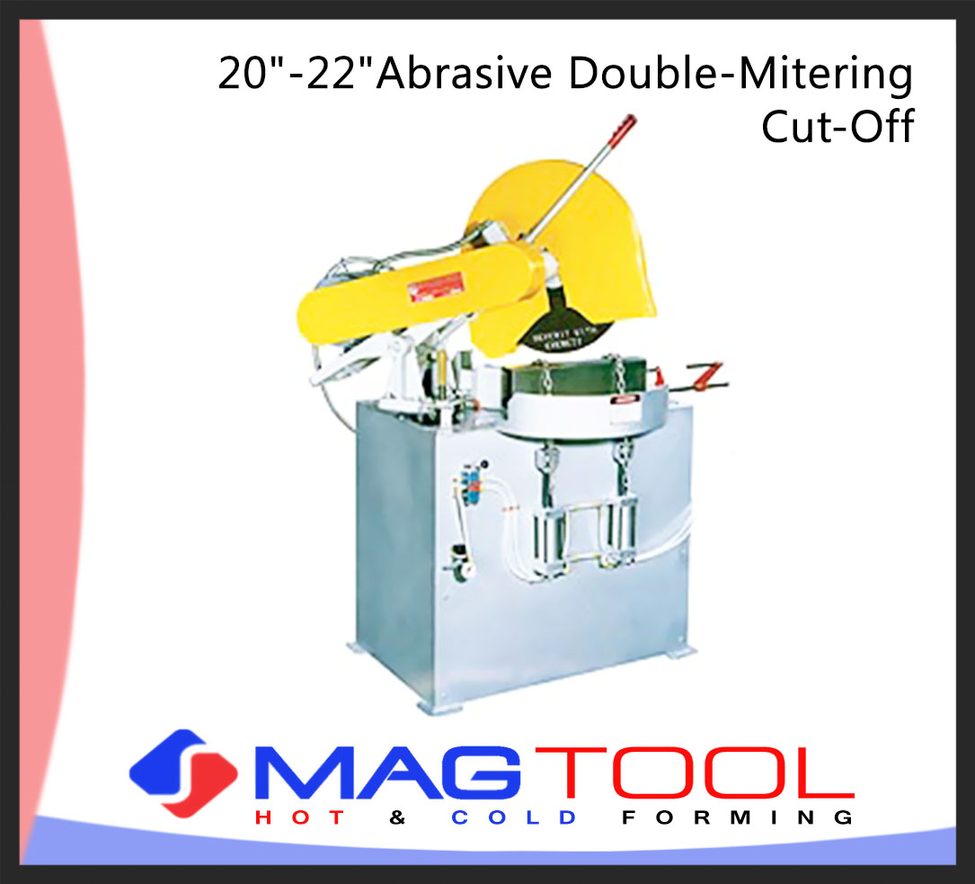 """20""""-22""""Abrasive Double-Mitering Cut-Off"""