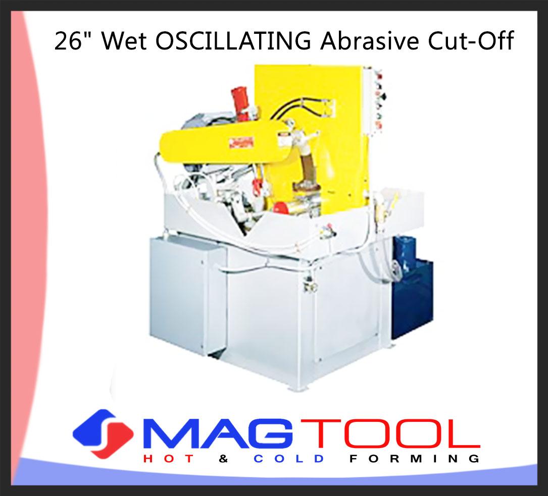 "26"" Wet OSCILLATING Abrasive Cut-Off"