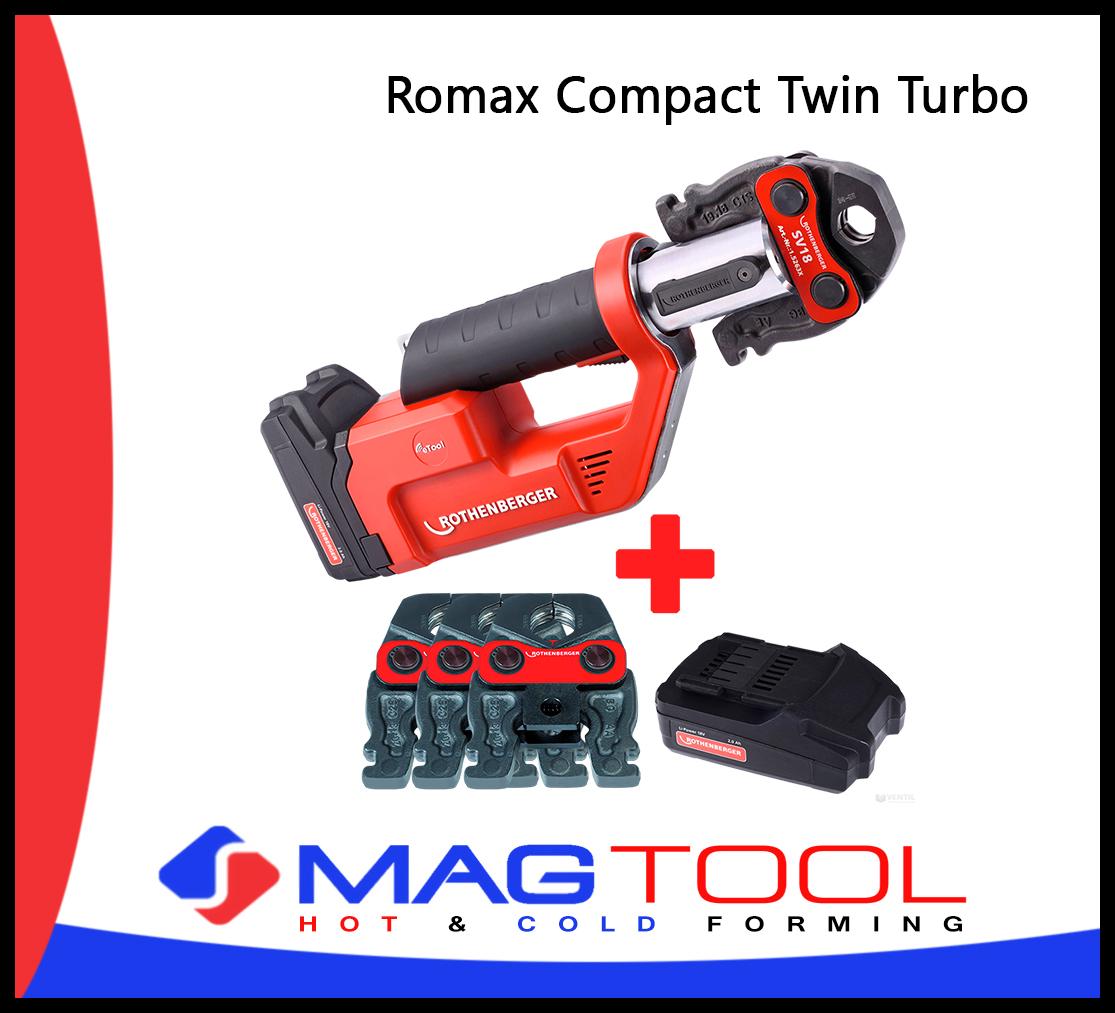 Romax Compact Twin Turbo