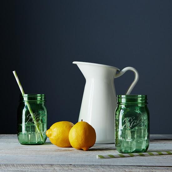 green ball jars