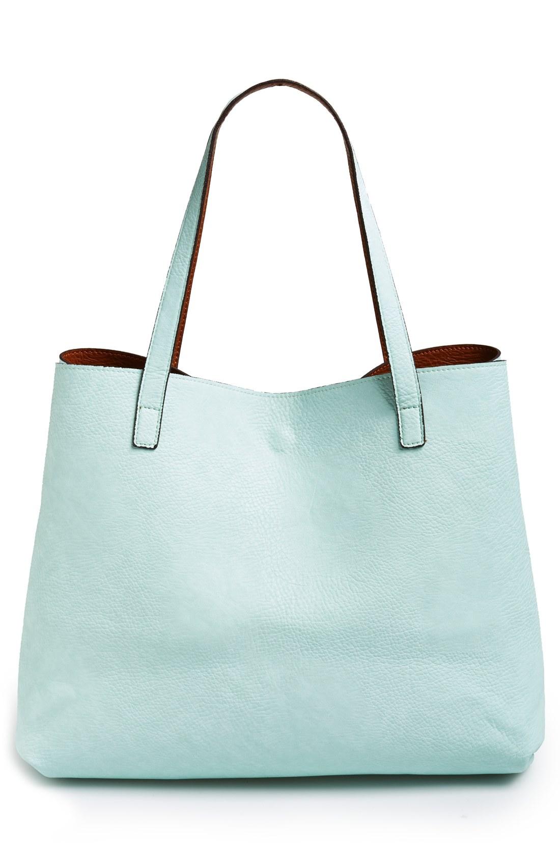 Reversble Vegan tote Bag