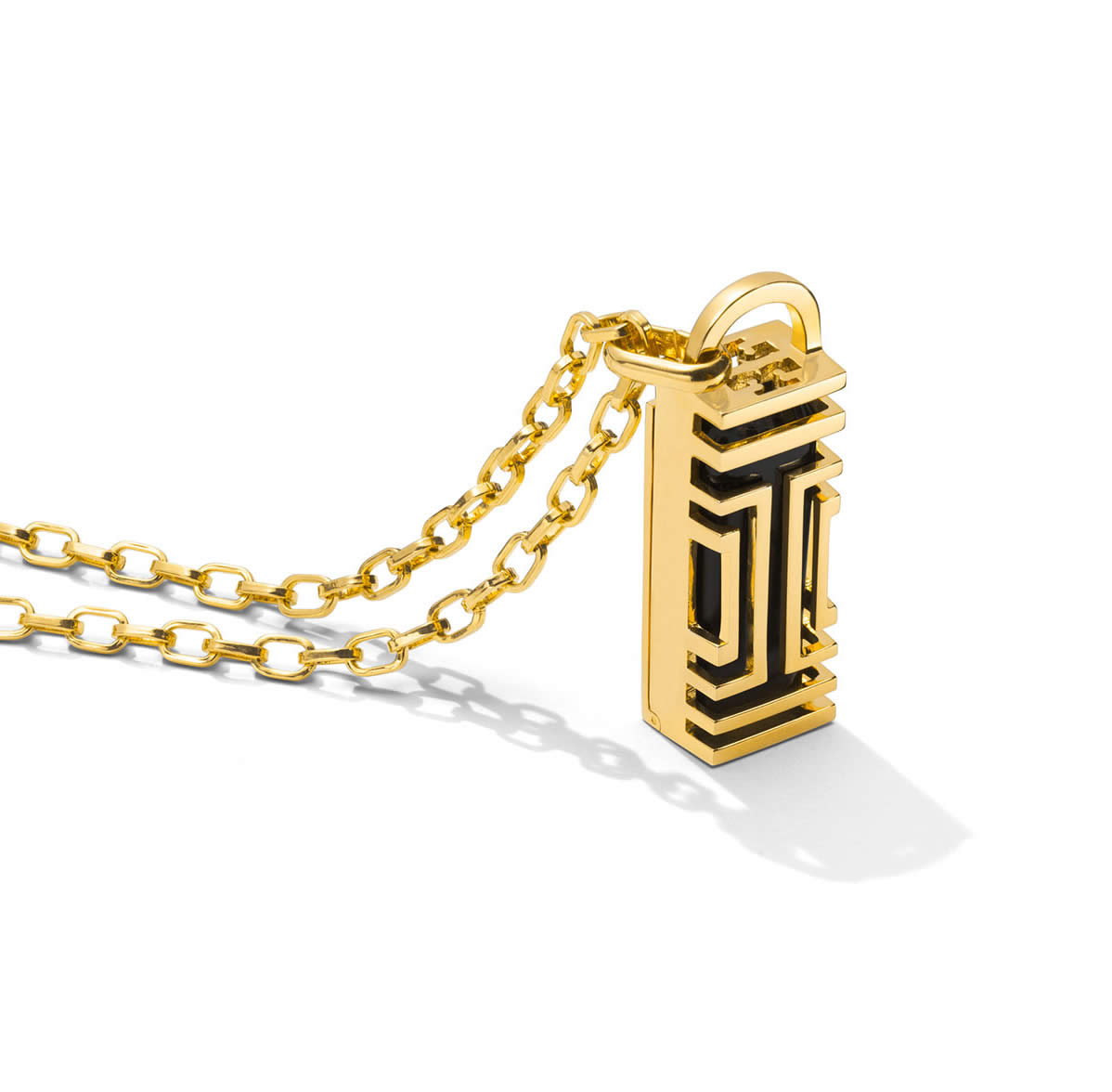 Tory Burch for Fitbit Fret Pendant Necklack