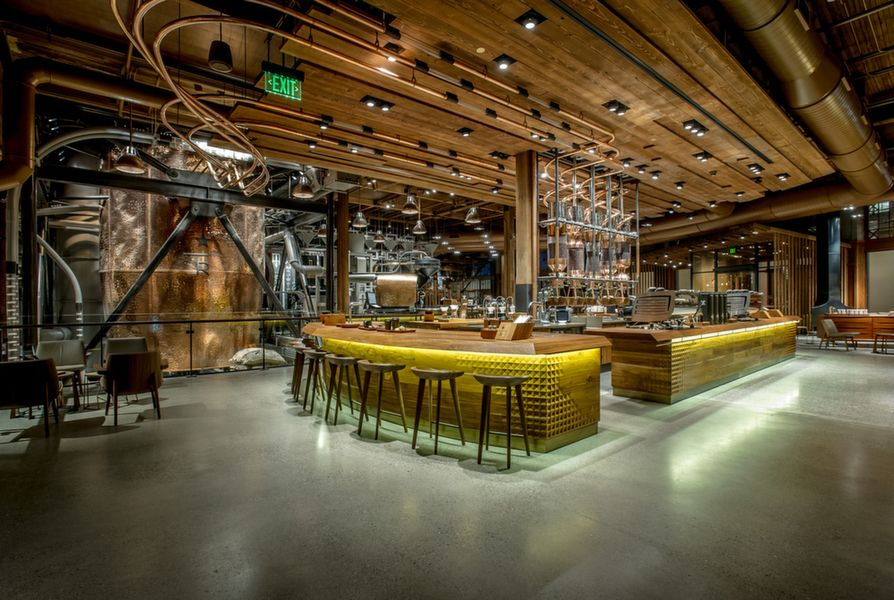 Main Bar at Starbucks Reserve